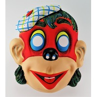 Funny Clown Red Ape Halloween Mask Monkey Gorilla