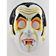 Vintage Collegeville Vampire Dracula Halloween Mask Universal Monsters 1970s Y183 SD3911