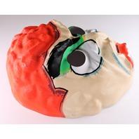 Vintage Topstone Evil Brain Monster Halloween Mask 1960's
