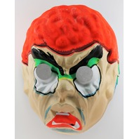 Vintage Topstone Evil Brain Monster Halloween Creepy Mask 1960's Y159