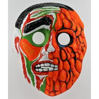 Vintage Topstone The Incredible Melting Man Halloween Mask Monster 1970's Y180 SD3916
