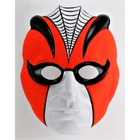 Vintage Collegeville Spider Halloween Mask Steve Miller Joker Spider-Man Y011
