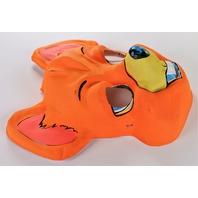 Vintage Orange Mouse Halloween Mask 1960s 1970s Ben Cooper Topstone Collegeville Y279