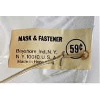 Vintage Cow Halloween Mask Bayshore Elsie Cow 1970s 1980s Y098