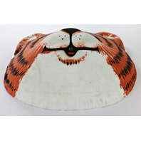 Vintage Collegeville Hallmark Tiger Halloween Mask 1981 80's TYG Shirt Tales Y281