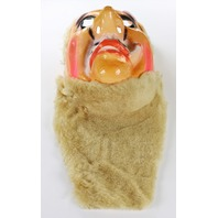 Vintage Beard Man Toppstone Halloween Mask Hobo Old Man Y270