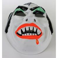 Vintage Dracula Halloween Mask Horror Monster Vampire Creepy Scary Costume Green Variant Y129