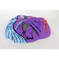 Vintage Dr Jekyll Mr Hyde Toppstone Halloween Mask Purple Monster Y132