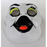 Vintage Ghost Collegeville Halloween Mask Ben Cooper Toppstone Y275