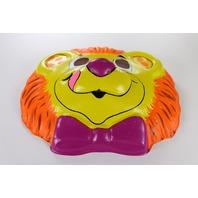 Vintage Lion Hallmark Collegeville Halloween Mask Jungle Safari 1989 Y280