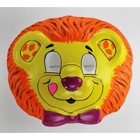Vintage Lion Hallmark Collegeville Halloween Mask Jungle Safari 1989 Y280