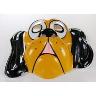 Vintage Walt Disney Pluto Dog Ben Cooper Halloween Mask Mickey Mouse Y178