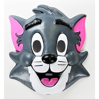 Vintage Tom and Jerry Cat Collegeville Halloween Mask GB2