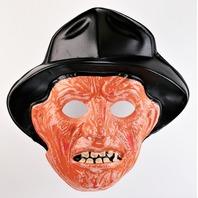 Vintage Collegeville Freddy Krueger Halloween Mask Nightmare on Elm Street 1987 Y269