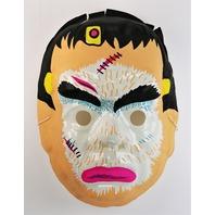 Vintage Frankenstein Halloween Mask AJ Quality 1980s Y265