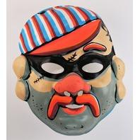 Vintage Collegeville Burglar Robber Halloween Mask 1960s Y264