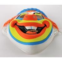 Vintage Clown Halloween Mask Ben Cooper Collegeville Circus Y262