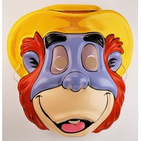 Vintage Ben Cooper King Louie Jungle Book TailSpin Halloween Mask Walt Disney 1990