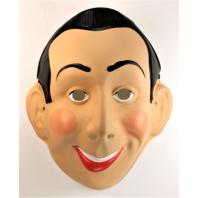 Vintage Ben Cooper Pee-Wee Herman Halloween Mask Pee Wee's Playhouse 1987BS