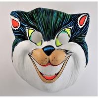 Vintage Smiling Cat Halloween Mask Zest Ben Cooper Collegeviile Y254