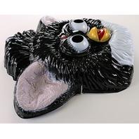 Vintage Tiger Electronics Black Furby Halloween Mask 1990s Hasbro BS