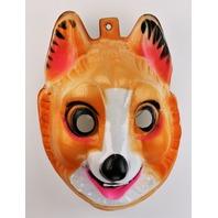 Vintage Sled Dog K9 Halloween Mask 1980s Fox Bayshore Ind Y253