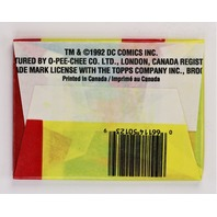 Vintage 1992 DC Comics Batman Returns Trading Cards Wax Pack O-Pee-Chee