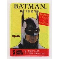 Vintage 1992 DC Comics Batman Returns Trading Cards Wax Pack O-Pee-Chee
