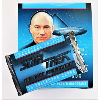 Vintage 1992 Star Trek The Next Generation Trading Cards Captain Picard Warf Data The Enterprise