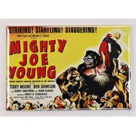 Mighty Joe Young Movie Poster FRIDGE MAGNET Gorilla Ape King Kong Film