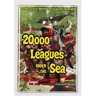 Walt Disney 20,000 Leagues Under The Sea Movie Poster FRIDGE MAGNET