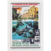 The Land That Time Forgot Movie Poster FRIDGE MAGNET Sci-Fi Dinosaurs