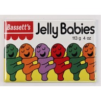 Bassetts Jelly Babies Candy Box FRIDGE MAGNET