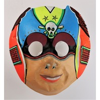 Vintage Space Pirate Halloween Mask Space Kidettes Collegeville Ben Cooper 1960s Y124