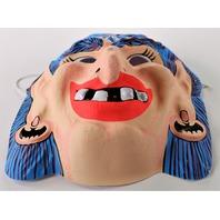 Vintage Topstone Gypsy Witch Halloween Mask Collegeville Ben Cooper 1980s Y105