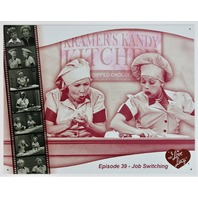 I Love Lucy Kramers Kandy Kitchen Tin Metal Sign Candy Chocolate Factory D39