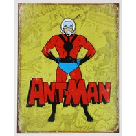 Marvel Comics Ant-Man Tin Metal Sign Ant Man and The Wasp Avnegers D113