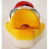 Vintage Disney Huey Duck DuckTales Halloween Mask Cesar Scrooge McDuck Donald Duck Mickey Mouse