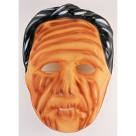 Vintage Dick Tracy Prune Face Halloween Mask Ben Cooper 1980s Y261
