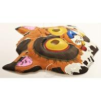 Vintage Topstone Alley Cat Feline Halloween Mask 80's