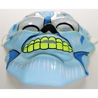 Vintage Topstone Blue Skeleton Skull Halloween Mask 80's Monster Mask