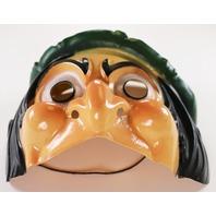 Vintage Disney Wicked Queen Witch Halloween Mask Cesar Snow White Evil Queen Grimhilde