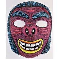 Vintage Ghoul Monster Halloween Mask Topstone Collegeville Gorilla Ape Beast