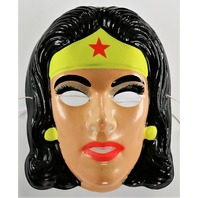 Vintage Ben Cooper Wonder Woman DC Comics Halloween Mask Justice League Superman 1991