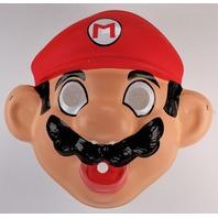 Vintage Ben Cooper Nintendo Mario Brothers Halloween Mask NES 1988 Luigi