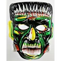 Vintage Frankenstein Halloween Mask Monster Collegeville Topstone Ben CooperY171