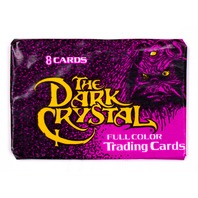 The Dark Crystal Vintage Trading Cards ONE Wax Pack 1982 Donruss Henson 80's