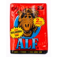 ALF Series 2 Vintage Trading Cards ONE Wax PACK 1987 Topps NBC