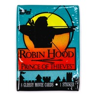Robinhood Prince of Thieves Vintage Trading Cards ONE Pack 1991 Topps
