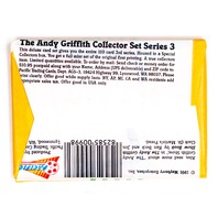 The Andy Griffith Show Vintage Trading Cards ONE Wax Pack 1991 Pacific 50's TV